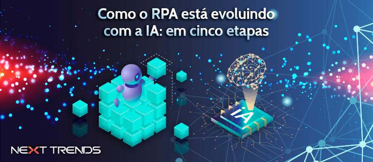 Como o RPA está evoluindo com a IA